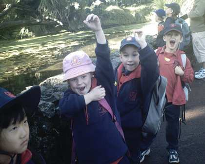 Tue, 1 Aug 2006: New Zealand, Winter, Robert's School Trip to Auckland Zoo
