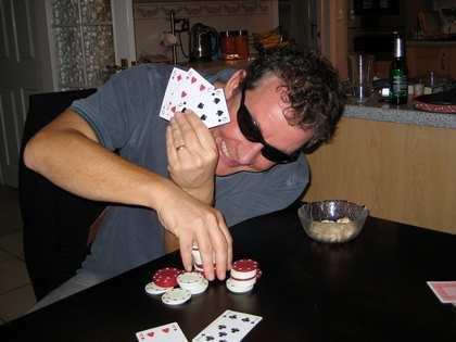 13 - 14 Jul 2007: Back in England, Poker