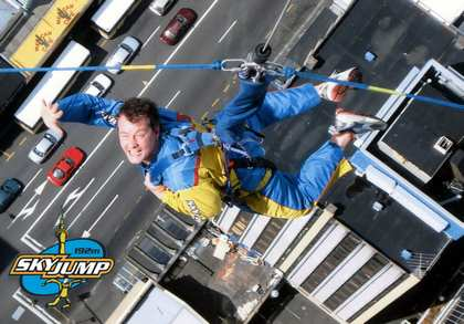 Sat, 10 Mar 2007: Home in New Zealand, SkyJump
