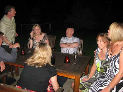 Sat, 23 May 2009: Spring, Nicki's 40th