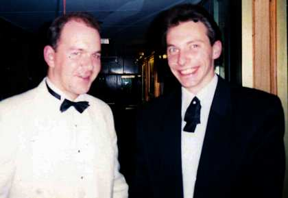 1995: Egypt to India on Sea Princess, Rob Hebden and Nik Ryal