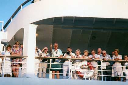 20 - 28 Jan 1995: Egypt to India on Sea Princess